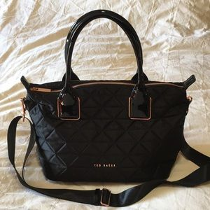 Ted Baker quilted crossbody tote bag